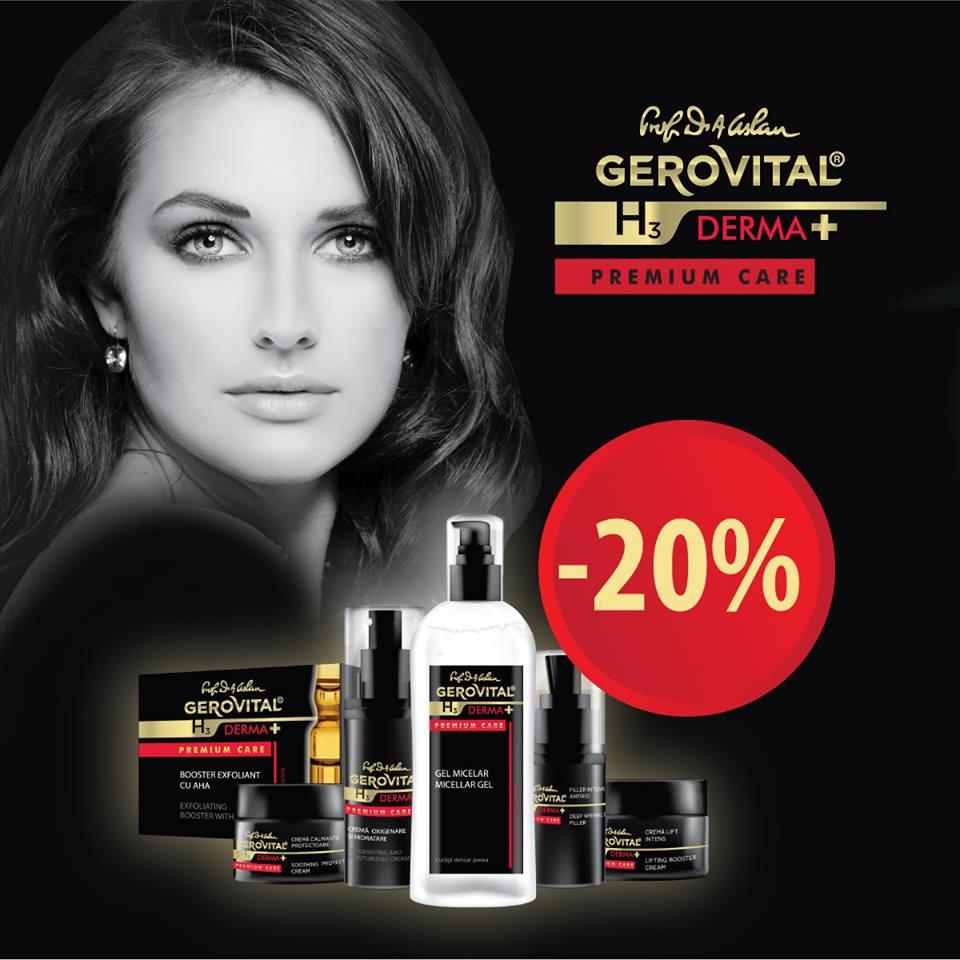 Gerovital H3 Derma+ Premium Care