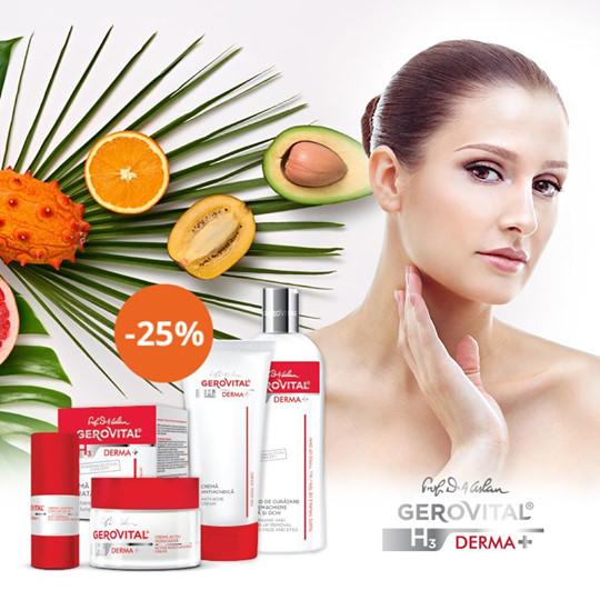 Gerovital H3 Derma+