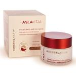 Anti-age cream with calcium - Aslavital Mineralactiv by Gerovital - 50 ml