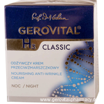 Gerovital H3 Classic - Nourishing anti-wrinkle cream night - 50 ml