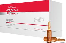 Treatment of hair loss - 12 vials x 10 ml - Gerovital H3 Derma+