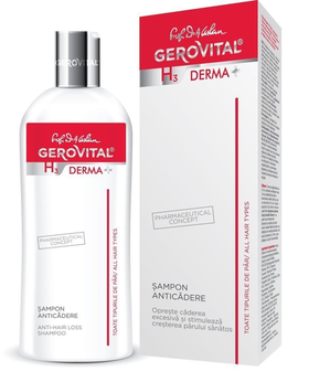 Anti-hair loss shampoo Gerovital H3 Derma+ - 200 ml